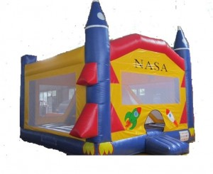 out of space Jumping castle