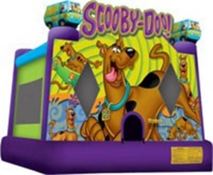 Scooby Doo Jumping Castle