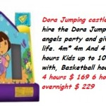 weekend jumping castle hire